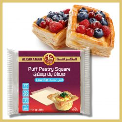 Puff Pastry Square (Low Fat)