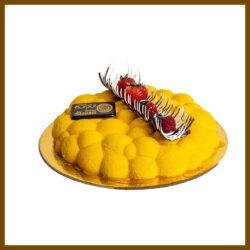 Mango Mousse-Torta