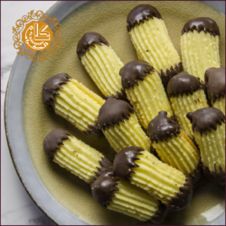 Petit Fours Vanilla Fingers With Chocolate-Kg