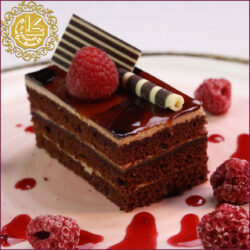 Chocolate Sacher Cake-Pcs