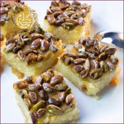 Basbousa With Nuts-Kg